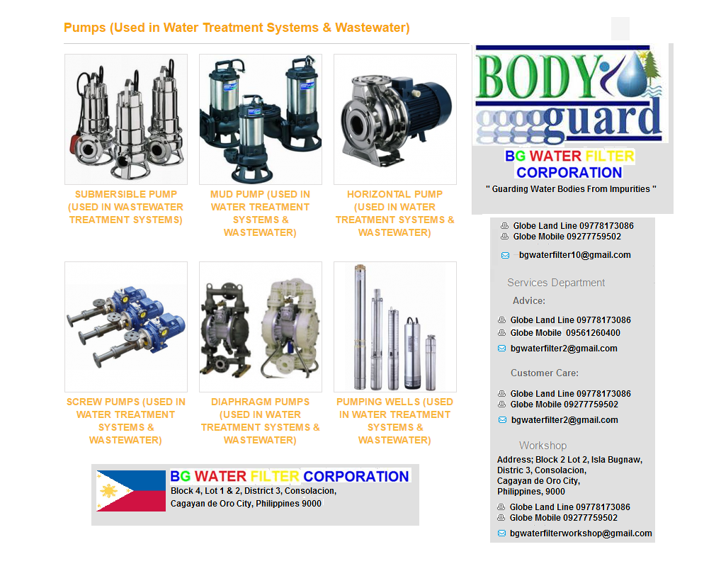 pumps-used-in-waste-water-treatment